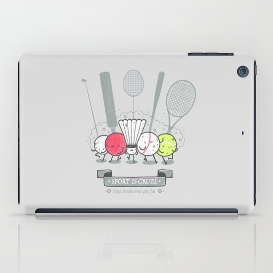 Sport is cruel iPad Case