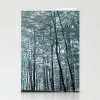 cold forest VI Stationery Cards