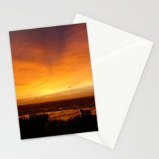 Sunset in Vanuatu Stationery Cards