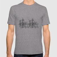 TYPE O Mens Fitted Tee Athletic Grey SMALL