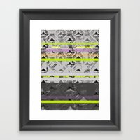 Tri Lands Framed Art Print