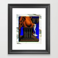 Awake Next 2 U Framed Art Print