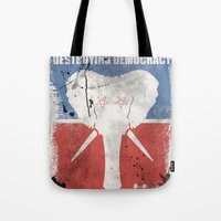SUBVERTING THE TRUTH  Tote Bag