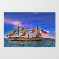 US Coast Guard Eagle.  Canvas Print