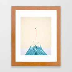 Fortress of Solitude Breakout Framed Art Print