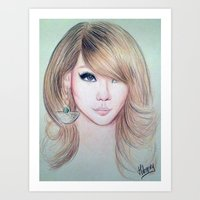 CL (2NE1) - Lee Chae Rin Art Print