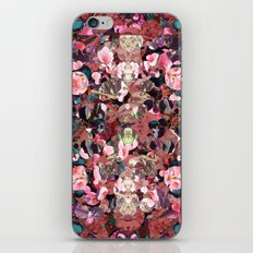 Pink Spot Floral iPhone & iPod Skin
