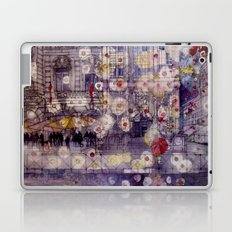 Girl with a red umbrella Laptop & iPad Skin