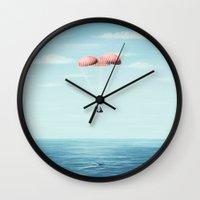 Splashdown Wall Clock