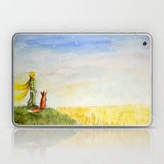 Little Prince, Fox and Wheat Fields Laptop & iPad Skin