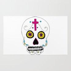 Mexican Skull Rug