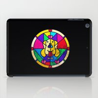 Stained Glass Dog iPad Case