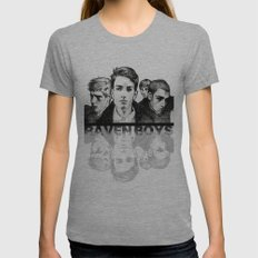 The Raven Boys Womens Fitted Tee Athletic Grey SMALL