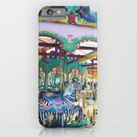 iPhone & iPod Case featuring Carousel by Ashley White Jacobsen