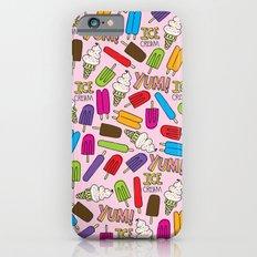 Ice Cream Doodles iPhone 6s Slim Case