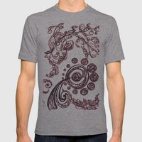 Birth of a Galaxy Mens Fitted Tee Tri-Grey SMALL