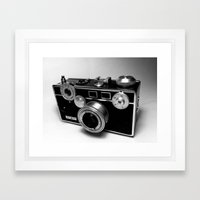 Argus C3 Camera Framed Art Print
