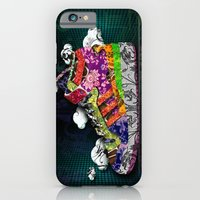 iPhone & iPod Case featuring Horror Vacui - Baskets01 by YIDO