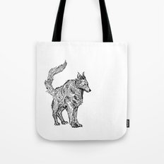 Clint EastWolf Tote Bag