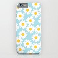 Blue Daisies iPhone 6 Slim Case