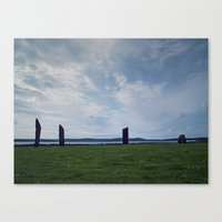 The Stones Of Stennes Canvas Print
