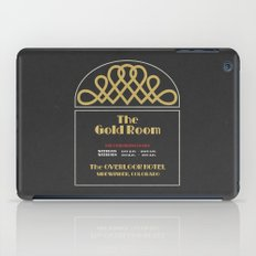 The Gold Room - The Shining - Overlook Hotel  iPad Case