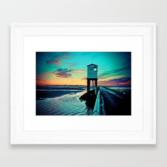 Betsy Blue Framed Art Print