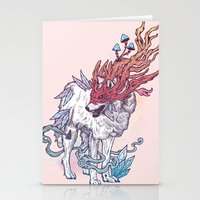Spirit Animal - Wolf Stationery Cards