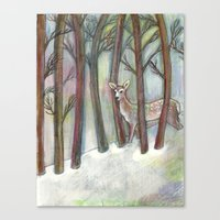 Forestry Canvas Print