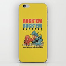 ROCK 'EM, SOCK 'EM JAEGERS iPhone & iPod Skin