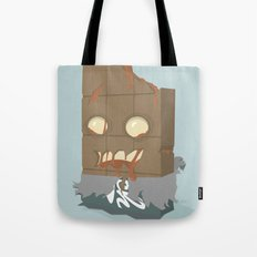 Zombie Crunch Bar Tote Bag