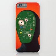 Robots Have Feelings Too iPhone 6 Slim Case
