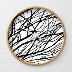 Tumble Weed Wall Clock