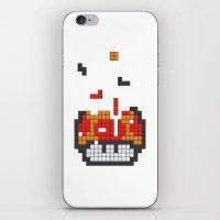 Super Mario Mushroom Tet… iPhone & iPod Skin