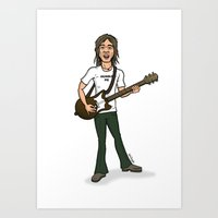 Steve Marriott Art Print