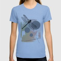 Dragonfly (variant) Womens Fitted Tee Athletic Blue SMALL