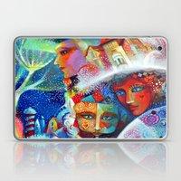 Winter Carnival - Venice… Laptop & iPad Skin