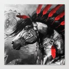 Native American Horse Sp… Canvas Print
