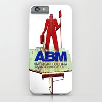 iPhone & iPod Case featuring The American worker by Vorona Photography