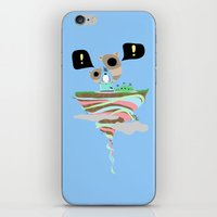 Dreaming for an adventure. iPhone & iPod Skin