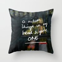 A Million Things Throw Pillow
