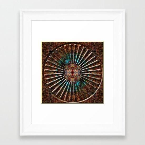 Mandala 12 Framed Art Print