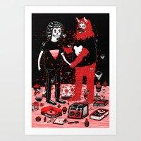 Pacto Art Print