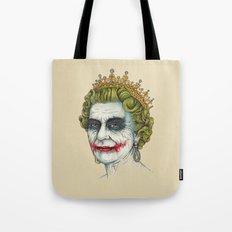 God Save the Villain! Tote Bag