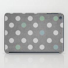 Concrete & PolkaDots iPad Case