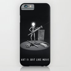art is just like music iPhone 6s Slim Case