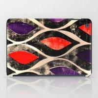 Press print ogee pattern iPad Case