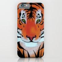 Green Eyes, Tiger iPhone 6 Slim Case