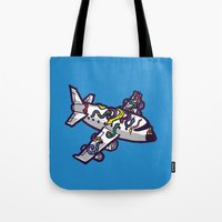 Snakes on a plane, literally   Tote Bag