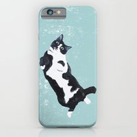 iPhone & iPod Case featuring tuxedo cat by memories warehouse by @aikogg